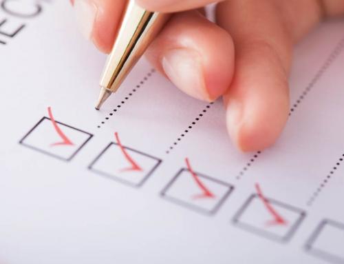 Checkliste für die Hauptuntersuchung